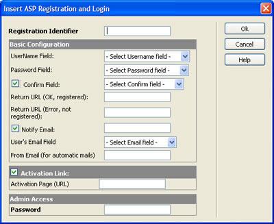 Validating a registration form using javascript in adobe
